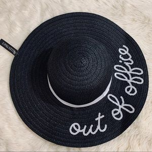 NWT Ellen Tracy Out of Office Beach Hat